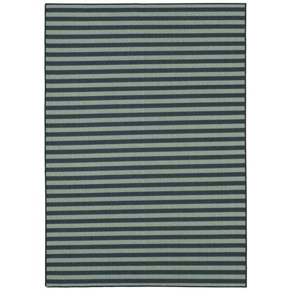 Mohawk Oasis Landon Stripe Flatweave Area Rug (8' x 10')