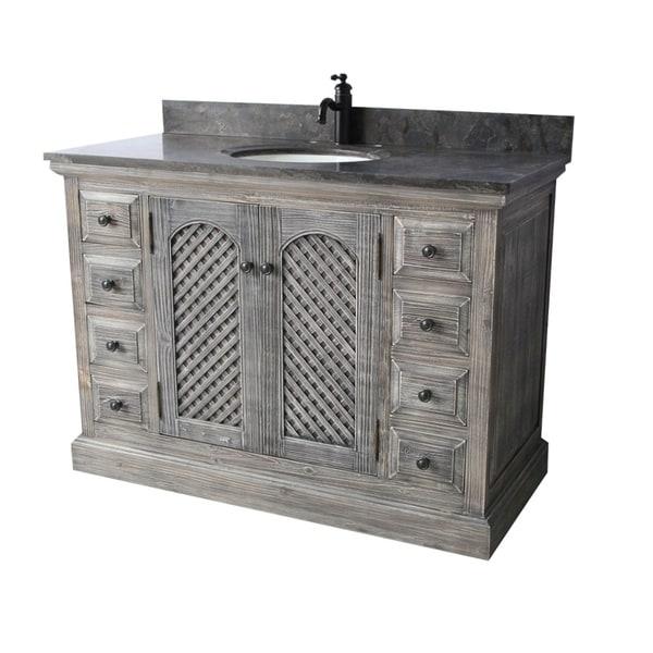 Shop Rustic Style 48-inch Bathroom Vanity