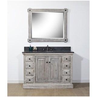 Rustic Style 48-inch Bathroom Vanity