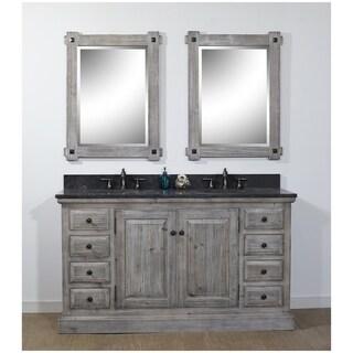 Rustic Style 61-inch Bathroom Vanity