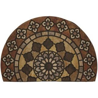 Mohawk Home Doorscapes Estate Mat Countryside Stones Doormat (1'11 x 2'11)