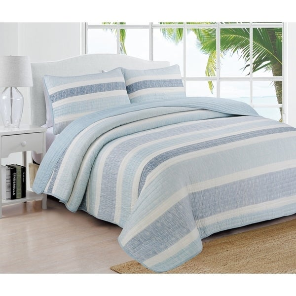 cbee90df07 Shop Estate Collection Delray Quilt Set - On Sale - Free Shipping ...