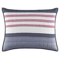 Nautica Angler Blue Quilted Standard Sham