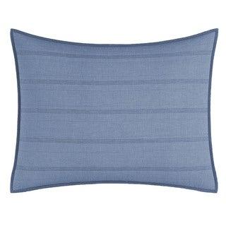 Nautica Buchanon Blue Quilted Standard Sham
