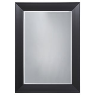 Black Frame Accent Mirror