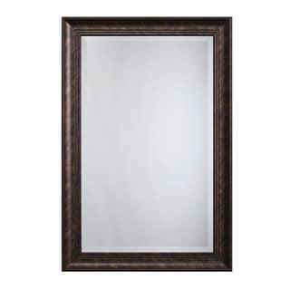 """Bronze Accent Mirror - Antique Brown - 1.81"""" D x 24"""" W x 36"""" H"""