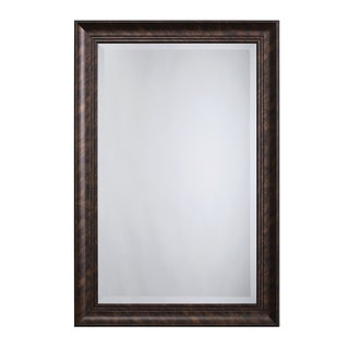 Bronze Accent Mirror - Antique Brown