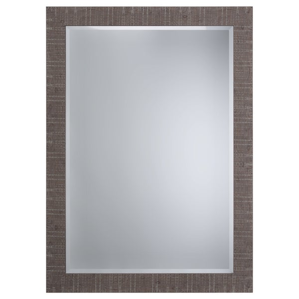 Brown Accent Mirror