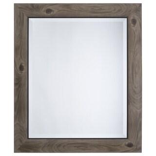 Grey Accent Mirror