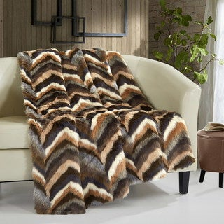 Link to Chic Home Titay Faux Fur Collection Cozy Super Soft Ultra Plush Micromink Throw Similar Items in Blankets & Throws