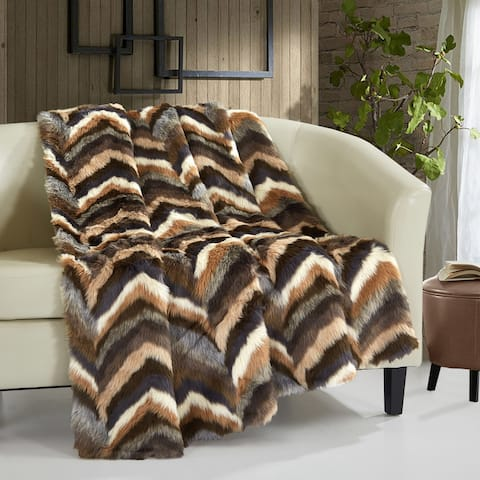 Chic Home Titay Faux Fur Collection Cozy Super Soft Ultra Plush Micromink Throw