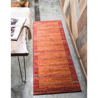 Unique Loom Autumn Foilage Runner Rug - 2' 6 x 10'