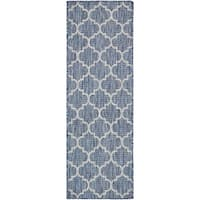 Unique Loom Outdoor Trellis Runner Rug - 2' x 6'