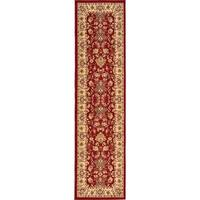 Unique Loom Washington Kashan Runner Rug - 2' 7 x 10'