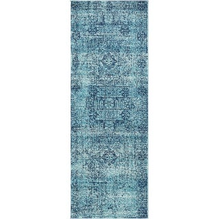 Tradition Floral Indoor/Outdoor Runner Rug (2'2 x 6') (2 options available)