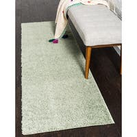 Unique Loom Studio Solid Shag Rug