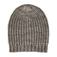 San Diego Hat Company Women's Solid Knit Beanie with Ribbed Opening KNH3429 Grey