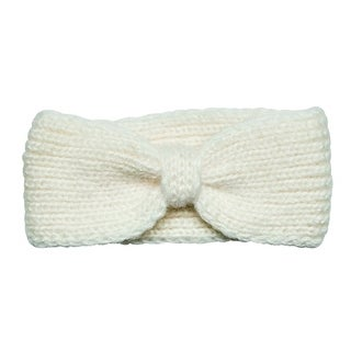 San Diego Hat Company Women's Cable Knit Centered Knot Headband KNH3478 Ivory