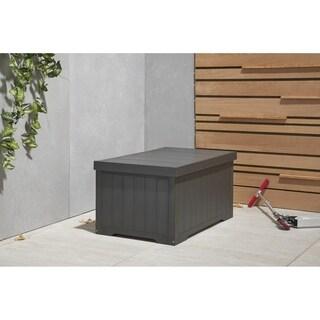 TRINITY EcoStorage 70 Gallon Outdoor Deck Box - Slate Gray