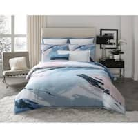 Vince Camuto Capri Abstract Brushstroke 3 Piece Comforter Set