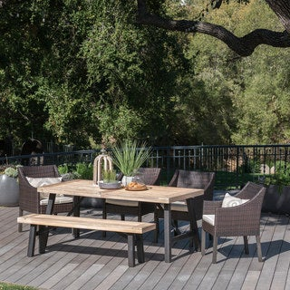 Wood, Rustic Patio Furniture | Find Great Outdoor Seating U0026 Dining Deals  Shopping At Overstock.com