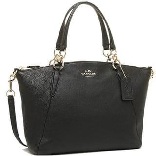 Coach Small Kelsey Satchel In Pebble Leather F36675|https://ak1.ostkcdn.com/images/products/18188464/P24333724.jpg?impolicy=medium