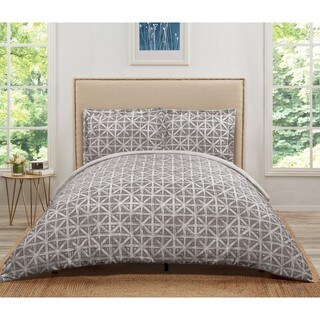 Truly Soft Celine Geo 3 Piece Duvet Cover Set