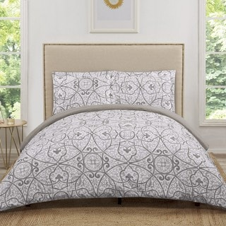 Truly Soft Marcello Scroll 3 Piece Duvet Cover Set
