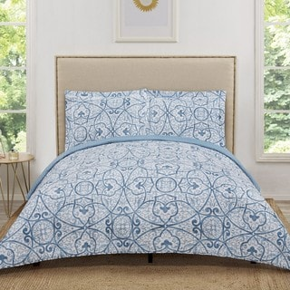 Truly Soft Marcello Printed 3 Piece Quilt Set