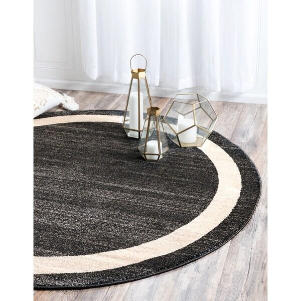 Unique Loom Maria Del Mar Round Rug - 6' Round