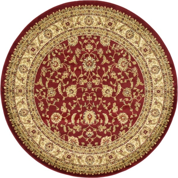 Unique Loom St. Louis Agra Round Rug - 6' 0 x 6' 0