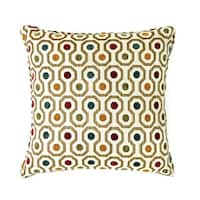 Dott Contemporary Style Pillow, Multicolor, Set of 2, Small