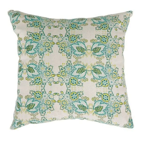 EVA Contemporary Small Pillow With fabric, Multicolor, Set of 2