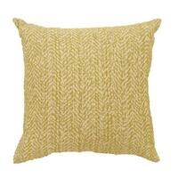GAIL Contemporary Big Pillow, Yellow, Set of 2