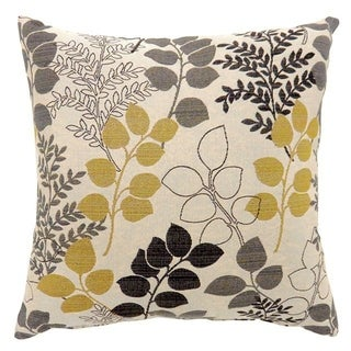 JILL Contemporary Big Pillow With fabric, Multicolor Finish, Set of 2