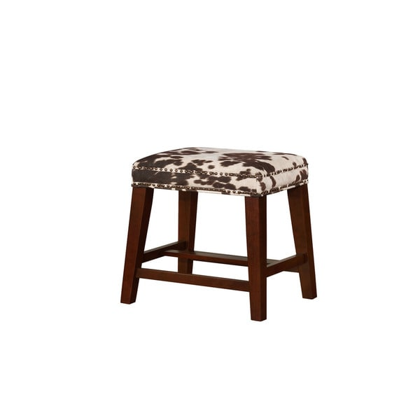 Ian Brown Cow Print Counter Stool. Opens flyout.