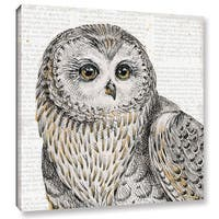 Daphne Brissonnet's Beautiful Owls II, Gallery Wrapped Canvas