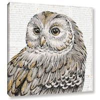 Daphne Brissonnet's Beautiful Owls I, Gallery Wrapped Canvas