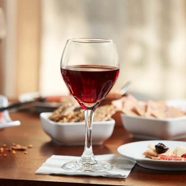 Libbey Basics 4-piece Red Wine Glass Set. Opens flyout.