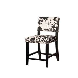 Link to Linon Lemont Black Cow Print Counter Stool Similar Items in Dining Room & Bar Furniture