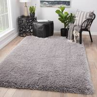 Orion Solid Light Gray Area Rug
