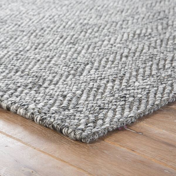Jute Wool Handmade Chevron Area Rug