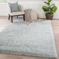 Cadence Solid Gray Area Rug (8' x 11')