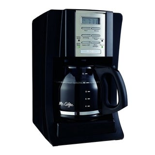 Mr. Coffee BVMC-SJX23 12-Cup Programmable Coffeemaker Black