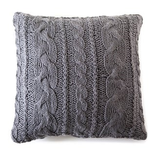 Manhattan Slate Large Euro Pillow Sham