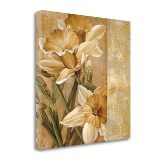 Champagne Daffodils I By Linda Thompson,  Gallery Wrap Canvas
