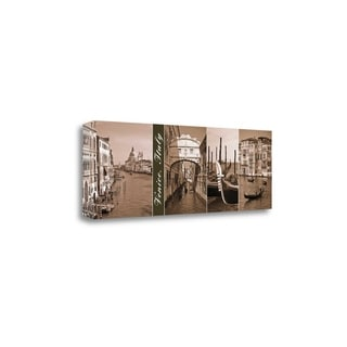 A Glimpse Of Venice By Jeff Maihara,  Gallery Wrap Canvas