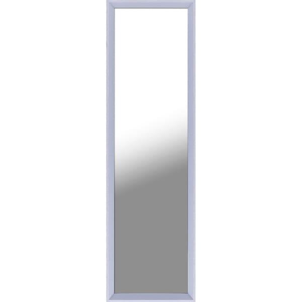 13.5X49.5 Light Grey Door Mirror, single piece