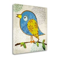Chirpy By Tandi Venter,  Gallery Wrap Canvas