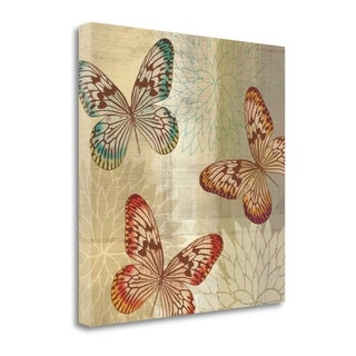 Tropical Butterflies II By Tandi Venter,  Gallery Wrap Canvas